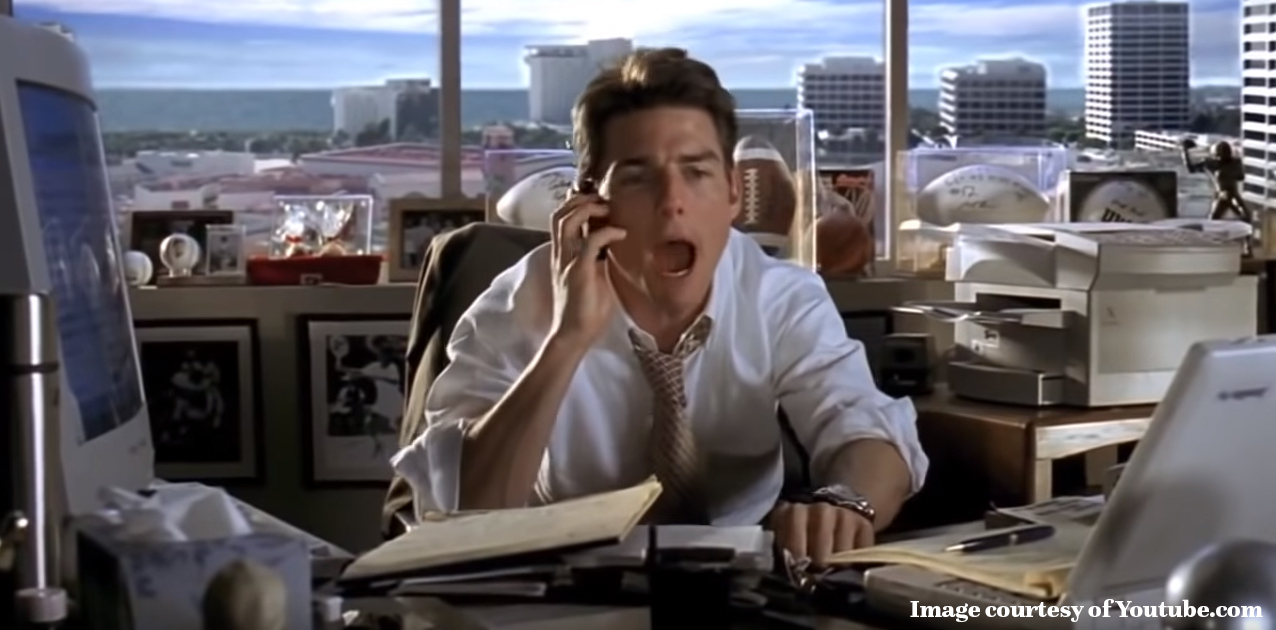 jerry maguire show me the money scene